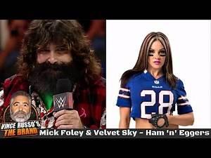 Mick Foley & Velvet Sky - Vince Russo's Ham 'n' Eggers Archive