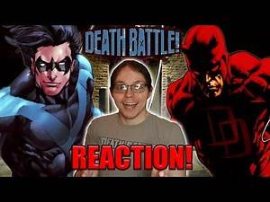 Red Devil VS Blue Bird | Nightwing VS Daredevil | DEATH BATTLE!