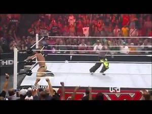 WWE Rey Mysterio Returns 2012 Raw
