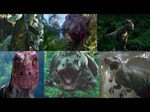 Dilo vs Buck T-Rex vs Rexy vs Ceratosaurus vs I-Rex vs Spinosaurus