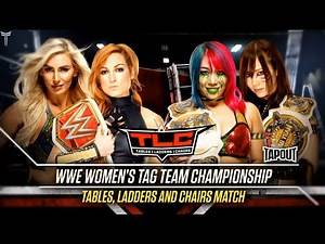 WWE TLC 2019 Official And Full Match Card (Old Section Gold)