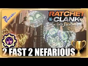 Ratchet & Clank Rift Apart - 2 Fuzz 2 Nefarious - Gold Trophy 🏆 - Defeat Doctor & Emperor Nefarious