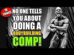 10 Things I Learned About Doing A Bodybuilding Comp (WITH PICTURES!)