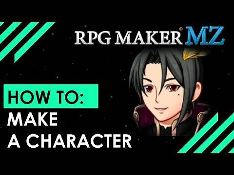 RPG Maker MZ: Basics EP-4... How to make a character.