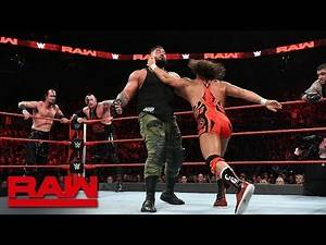 Chad Gable Bobby Roode vs. AOP vs. The Ascension: Raw, Oct. 29, 2018