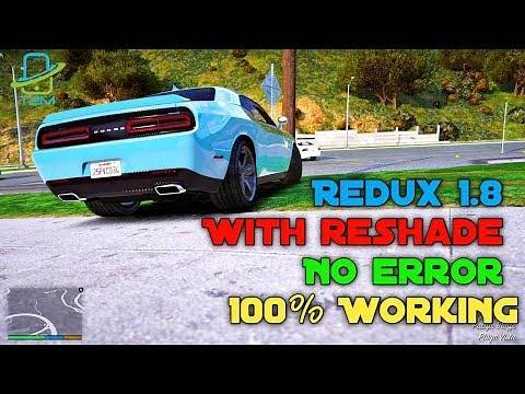How to Install GTA 5 Redux 1.8 with reshade without Any Error | GTA 5 Crash & Infinite Loading Fix