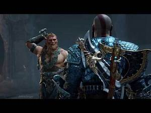 God of War 4 - Magni and Modi Boss Fight - New Game Plus - Blades of Chaos