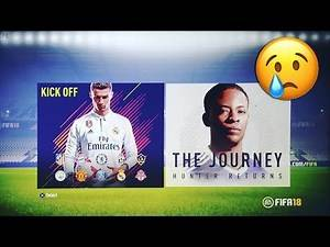 WHY DOES THE FIFA 18 DEMO DO THIS TO ME?!😭