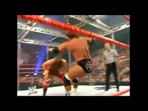 Triple H vs Shawn Michaels Bad Blood 2004 Hell In A Cell