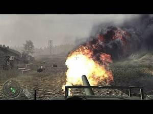 Blood & Iron ! Great Tank Mission from Online WW2 Game Call of Duty World at War