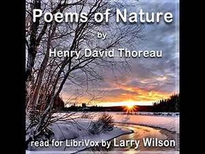 Poems of Nature by Henry David THOREAU read by Larry Wilson   Full Audio Book