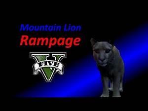 Mountain Lion Rampage (GTA V)