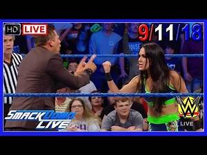 WWE SMACKDOWN LIVE 9/11/2018 Full Show REVIEW! Highlights Results Call-In HIAC