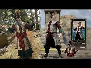 Witcher 3 Ermion in SoulCalibur 6 (Custom Character)