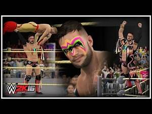 WWE 2K16 - THE ULTIMATE FINN BALOR (Finn Bálor Becomes An Ultimate Warrior)