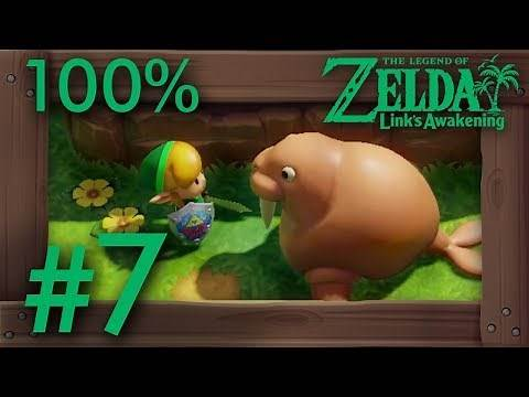 Zelda Link's Awakening (Switch): 100% Walkthrough Part 7 - Ocarina & Yarna Desert