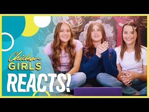 CHICKEN GIRLS | Cast Reacts to Season 1