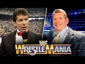 The Evolution of WWE WrestleMania! - WWF/WWE (1985-2019)