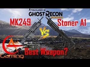 BEST WEAPON? MK249 VS STONER A1: GHOST RECON WILDLANDS