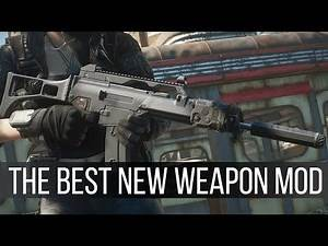 The G36C is the Best Weapon Mod Coming to Fallout 4 - Upcoming Mods 154