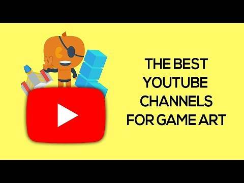 The Best Game Art Channels on Youtube