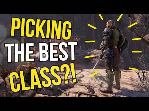 The ULTIMATE ESO Class Guide For ESO!! Which Class Should YOU Play in The Elder Scrolls Online?