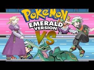 Pokemon Emerald Randomizer Nuzlocke Elite Four: Glacia