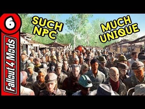 Unique NPCs – An NPC Overhaul - Fallout 4 Best Mods 2018 – Part 6