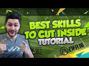 FIFA 16 BEST SKILLS TO USE ON THE WING - TOP SKILL MOVES TO CUT INSIDE FROM THE WING / TUTORIAL