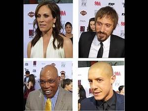 On the Red Carpet - Sons of Anarchy Video 2 - Annabeth, Niko, Paris, Theo