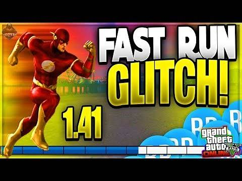 GTA 5 *FAST RUN GLITCH!* HOW TO RUN SUPER FAST CHEAT CODES ONLINE! MODDED RUN GTA 5 GLITCHES