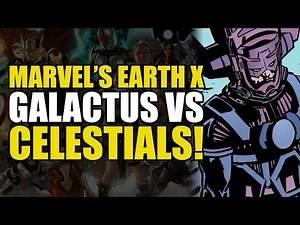 Galactus vs The Celestials! (Earth X Finale)