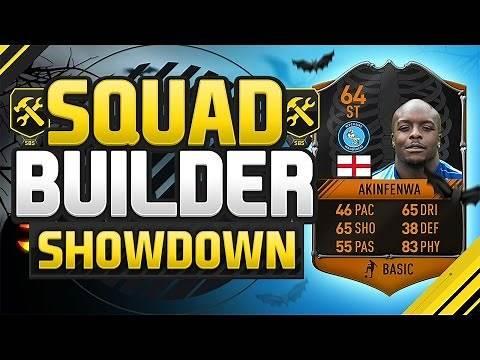 FIFA 17 SQUAD BUILDER SHOWDOWN!!! ULTIMATE SCREAM AKINFENWA!!! Special Akinfenwa Squad Duel