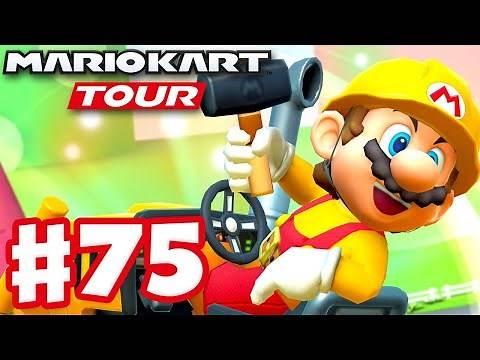 Trick Tour! Builder Mario! - Mario Kart Tour - Gameplay Part 75 (iOS)