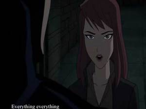 Batman the killing joke Barbara Gordon Quits Batgirl (Rooftop Scene)
