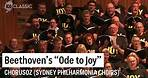 """Beethoven's """"Ode to Joy"""" live at the Sydney Opera House"""