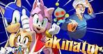 Sonic Plays Akinator feat Cream,cheese,Amy and Vanilla