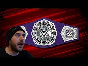 CWC REACTION - New WWE Cruiserweight Belt Revealed