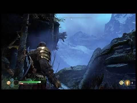 God of War axe throw infinite distance