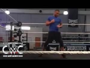 Inside look at WWE Cruiserweight Classic training