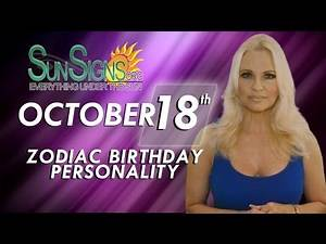 October 18th Zodiac Horoscope Birthday Personality - Libra - Part 2