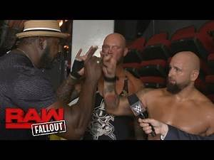 """Gallows & Anderson have a """"Too Sweet"""" encounter with Legend Stevie Ray: Raw Fallout, July 10, 2017"""
