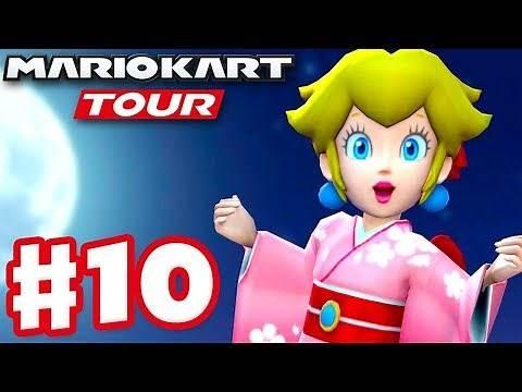 Tokyo Tour! Peach (Kimono) and New Tracks! - Mario Kart Tour - Gameplay Part 10 (iOS)