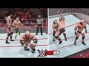 WWE 2K19 Top 10 Awesome Moments Gone Wrong!!