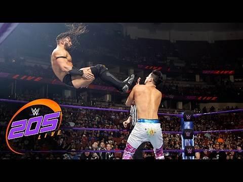 TJ Perkins vs. Neville: WWE 205 Live, Feb. 14, 2017