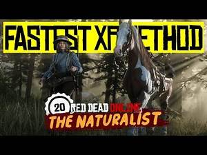 MAX Rank In 5 HOURS - 8,000XP Per Hour - Fastest Naturalist XP - Red Dead Online
