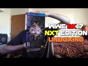 Unboxing: WWE 2K17 NXT Edition