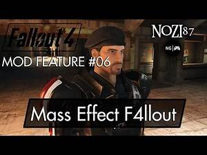 Fallout 4 Mod Feature #06 - Mass Effect F4llout