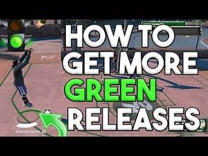 HOW TO GET MORE GREEN RELEASES!!! HOW TO TURN OFF SHOT METER!!! NBA 2K16 MYPARK TIPS!!!