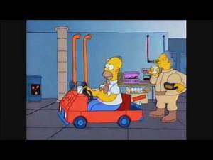 Homer Gets Fired From The Nuclear Plant - The Simpsons